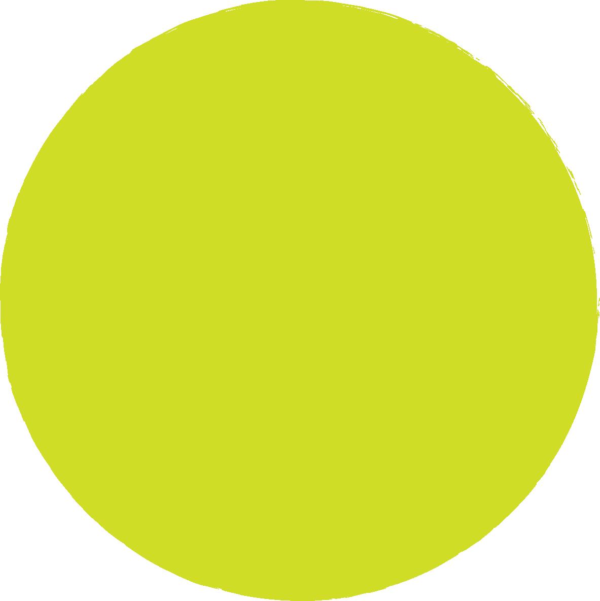 cerchio verde acido