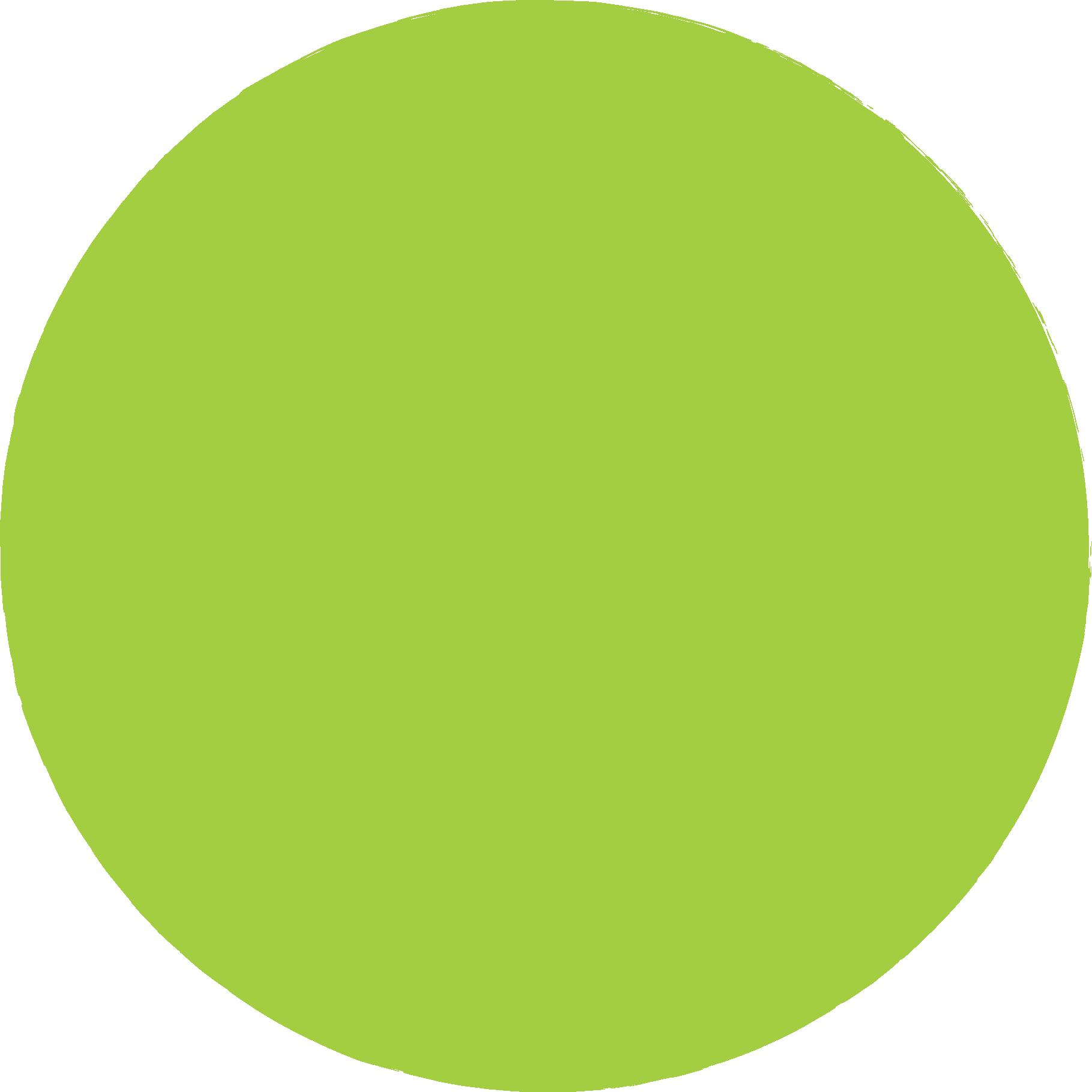 cerchio verde chiaro