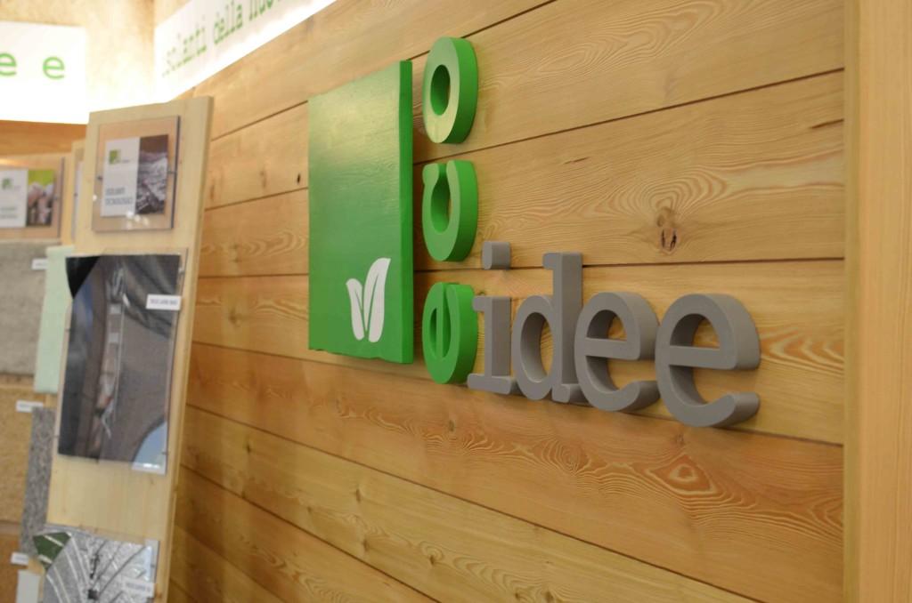 Foto 2 dello Stand di Eco Idee Ediliza a Lario fiere per Como Casa Clima