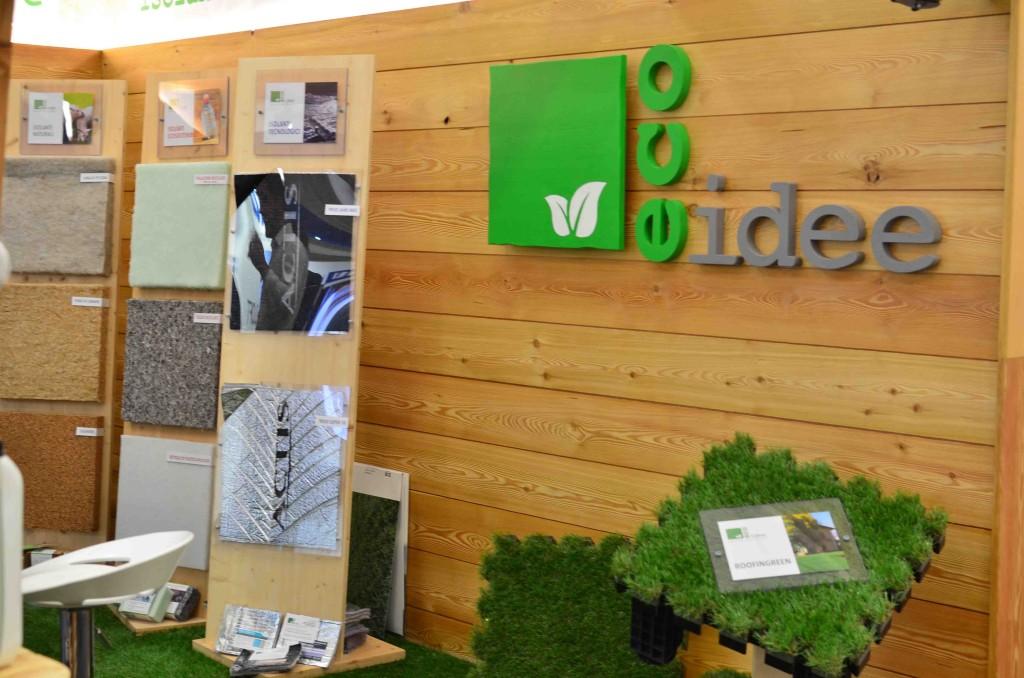 Foto 1 dello Stand di Eco Idee Ediliza a Lario fiere per Como Casa Clima