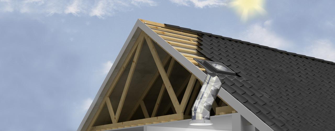 tunnel solare su falda eco idee edilizia